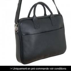 sacoche cuir noir