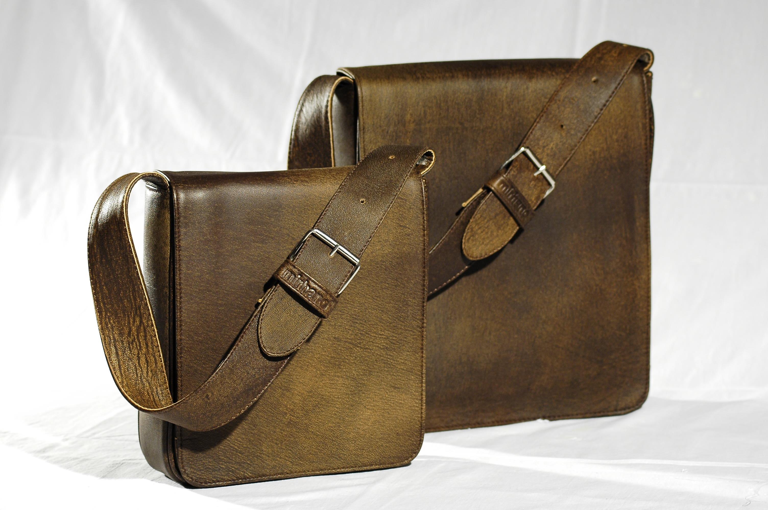 sac luxe cuir marron
